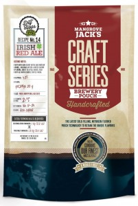 Brewkit Mangrove Jack's Craft Series 2,2kg - IRISH RED ALE