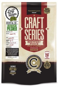 Brewkit Mangrove Jack's Craft Series 2,2kg - NEW ZELAND PILSNER