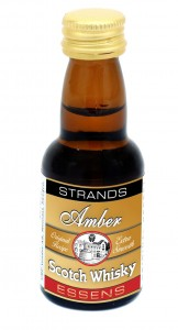 Esencja do alkoholu STRANDS Amber Whisky