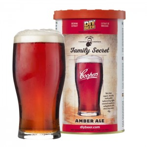 COOPERS 1,7kg - Family Secret Amber ALE