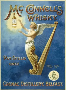 Reklama metalowa 30x40cm - Mc Connels Whisky