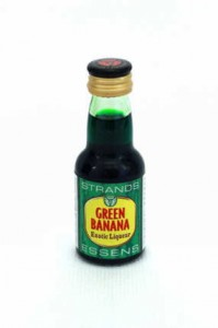 Esencja do alkoholu STRANDS GREEN BANANA