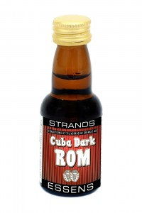 Esencja do alkoholu STRANDS Cuba Dark Rum