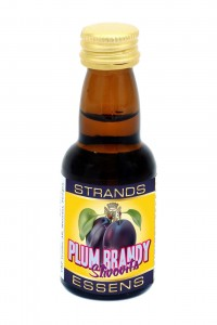 Esencja do alkoholu STRANDS Plum Brandy Slivovitz