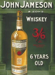 Reklama metalowa 30x40cm - John Jameson Whiskey