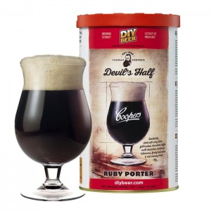 Coopers 1,7kg - Devil's Half RUBY PORTER
