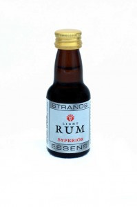 Esencja do alkoholu STRANDS Light Rum Superior